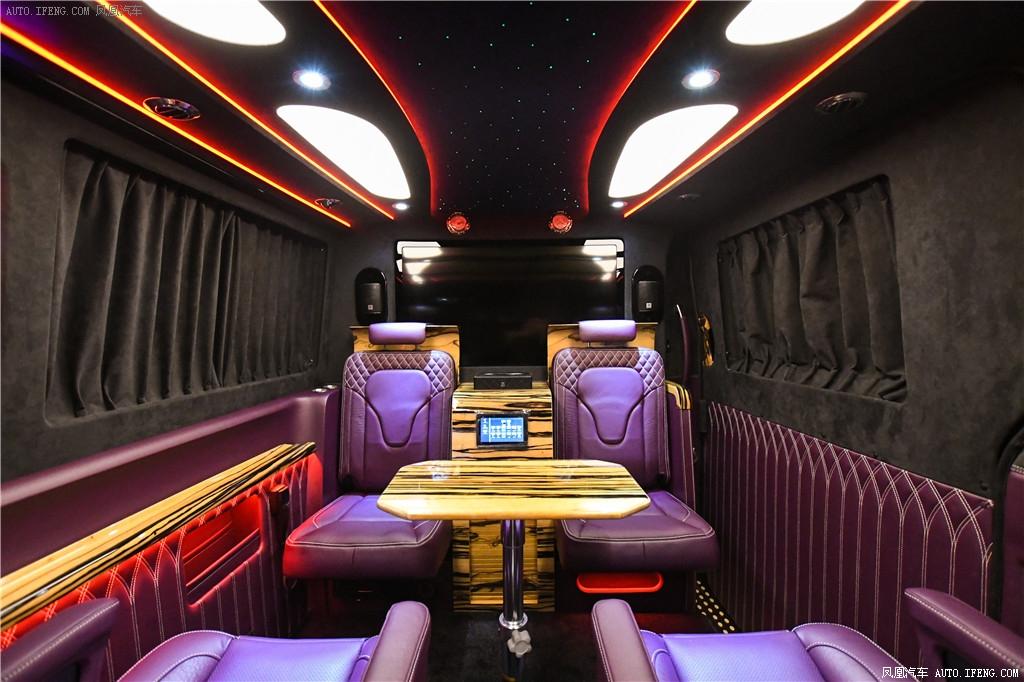 宁波奔驰斯宾特324房车价格曲屏至尊版