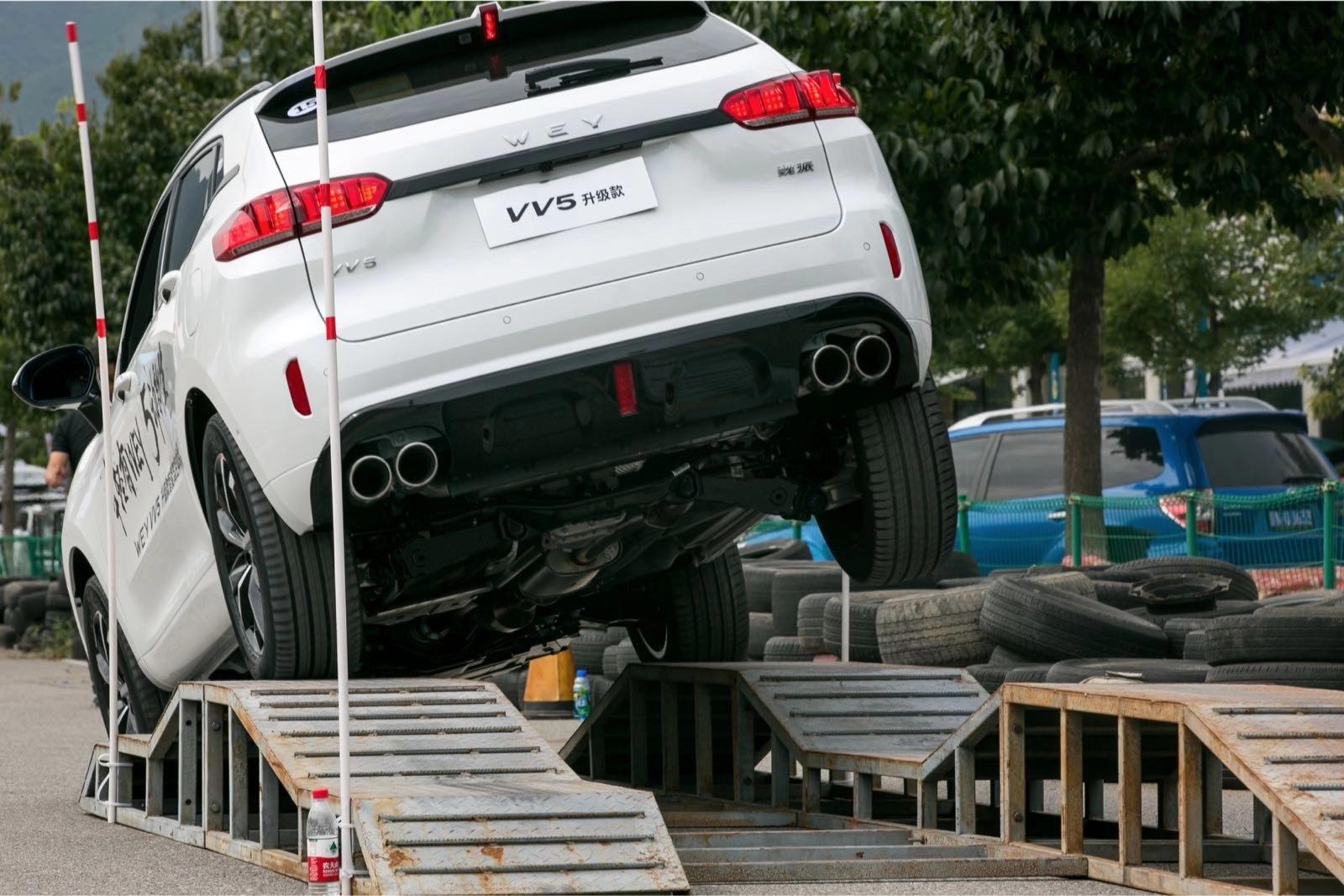 五大升级是亮点 WEY VV5升级款车型解析