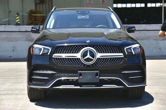 2020款奔驰GLE450进口现车 天津