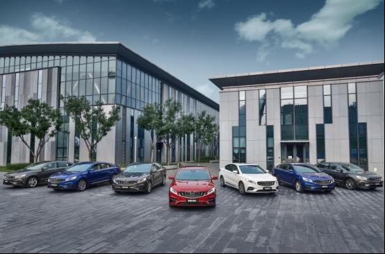 中国品牌最强B级车2020款博瑞GE上市