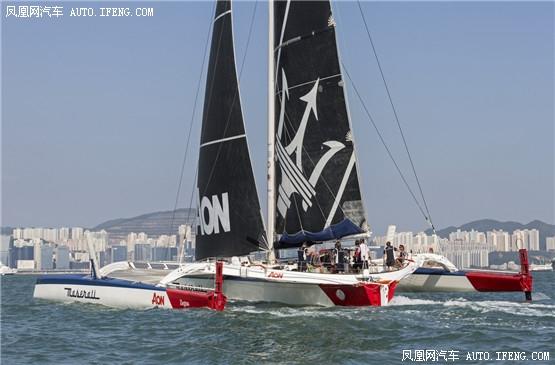 Multi 70帆船出征香港至越南帆船