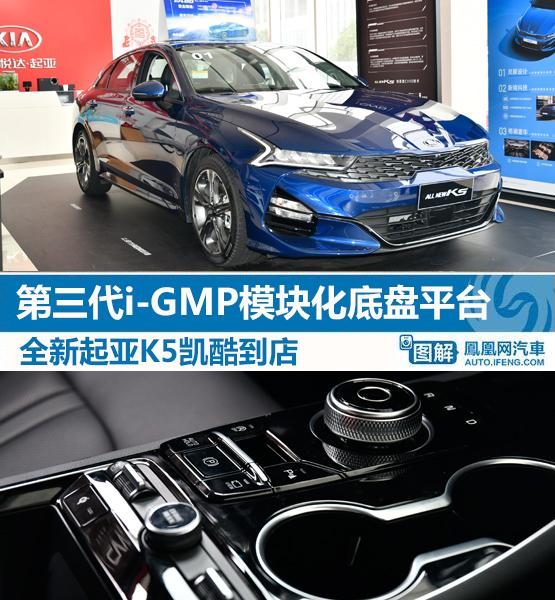 第三代i-GMP平台全新起亚K5凯酷到店_凤凰网汽车_凤凰网