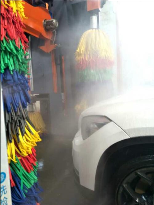 智能洗车机能带动车子的原理是什么