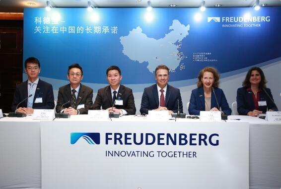 科德宝在中国持续投资,将为中国市场开发燃料电池解决方案