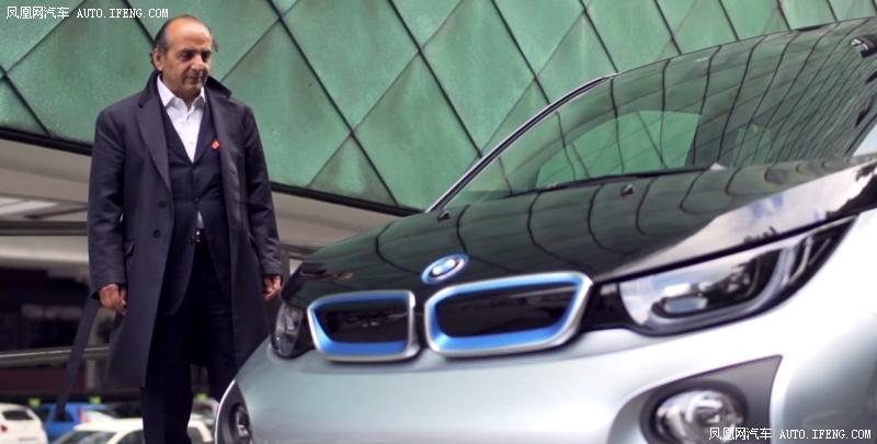 坐进国外卖疯的宝马i3电动车 用大佬的眼光看世界