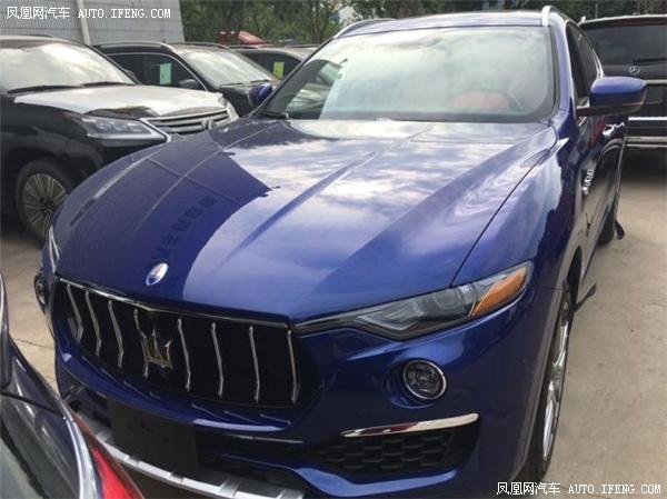 玛莎拉蒂SUV莱万特销售电话:13389982878刘经理