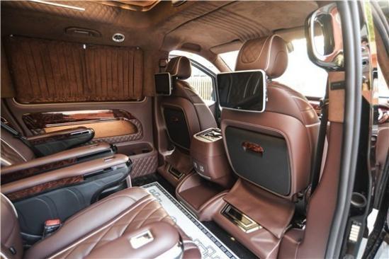 奔驰全新改装商务车迈巴赫VS680多少钱