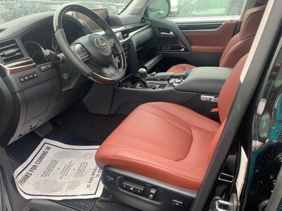 20款雷克萨斯570 豪华越野神车170W起售