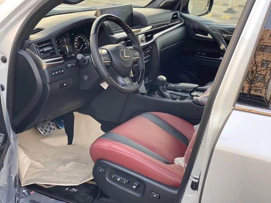 20款中东版LX570限量版白黑红现车促销