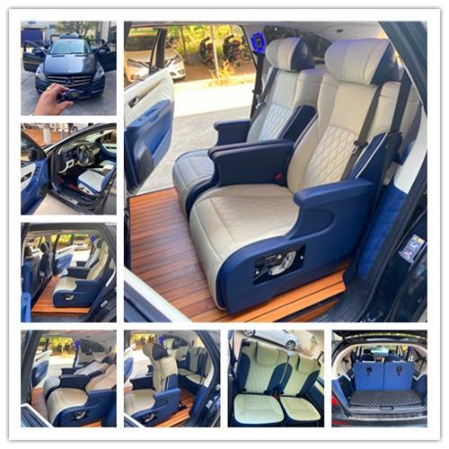 大通V80改装座椅图片-大通V80航空座椅